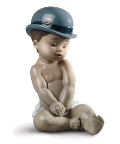 Boy with Bowler Hat - Lladro Figurine