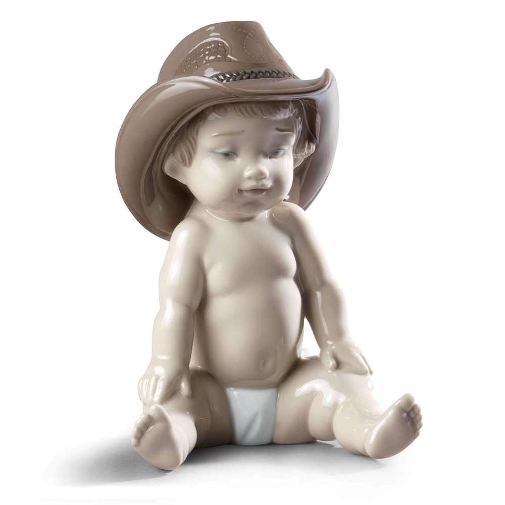 Boy with Cowboy Hat - Lladro Figurine