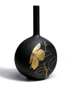 Canvas Vase Flower Twig (Black) 1007073 - Lladro