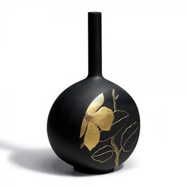 Canvas Vase Flower Twig (Black) 1007073 - Lladro