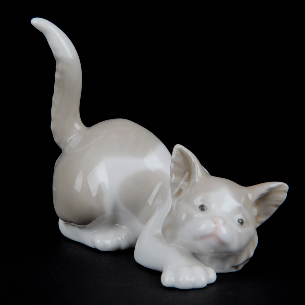 Cat - Play with Me 5112 - Lladro Figurine