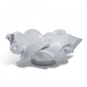 Centerpiece (White) 01007975 - Lladro Centerpiece