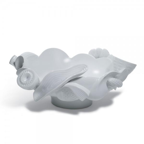 Centerpiece (White) 01007975 - Lladro Centerpiece