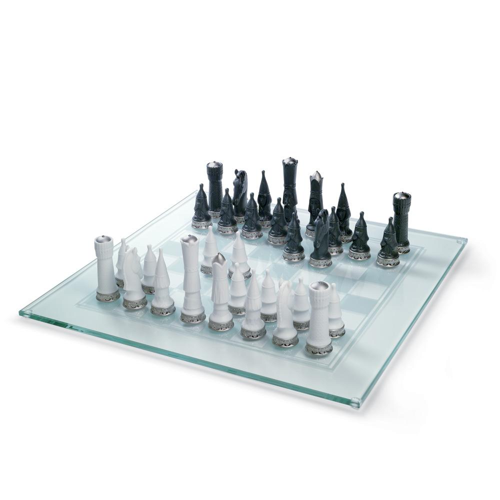 Chess Set (Re-Deco) 01007138 - Lladro Chess Set