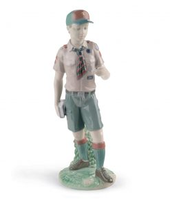 Classic Scout 01008459 - Lladro Figurine