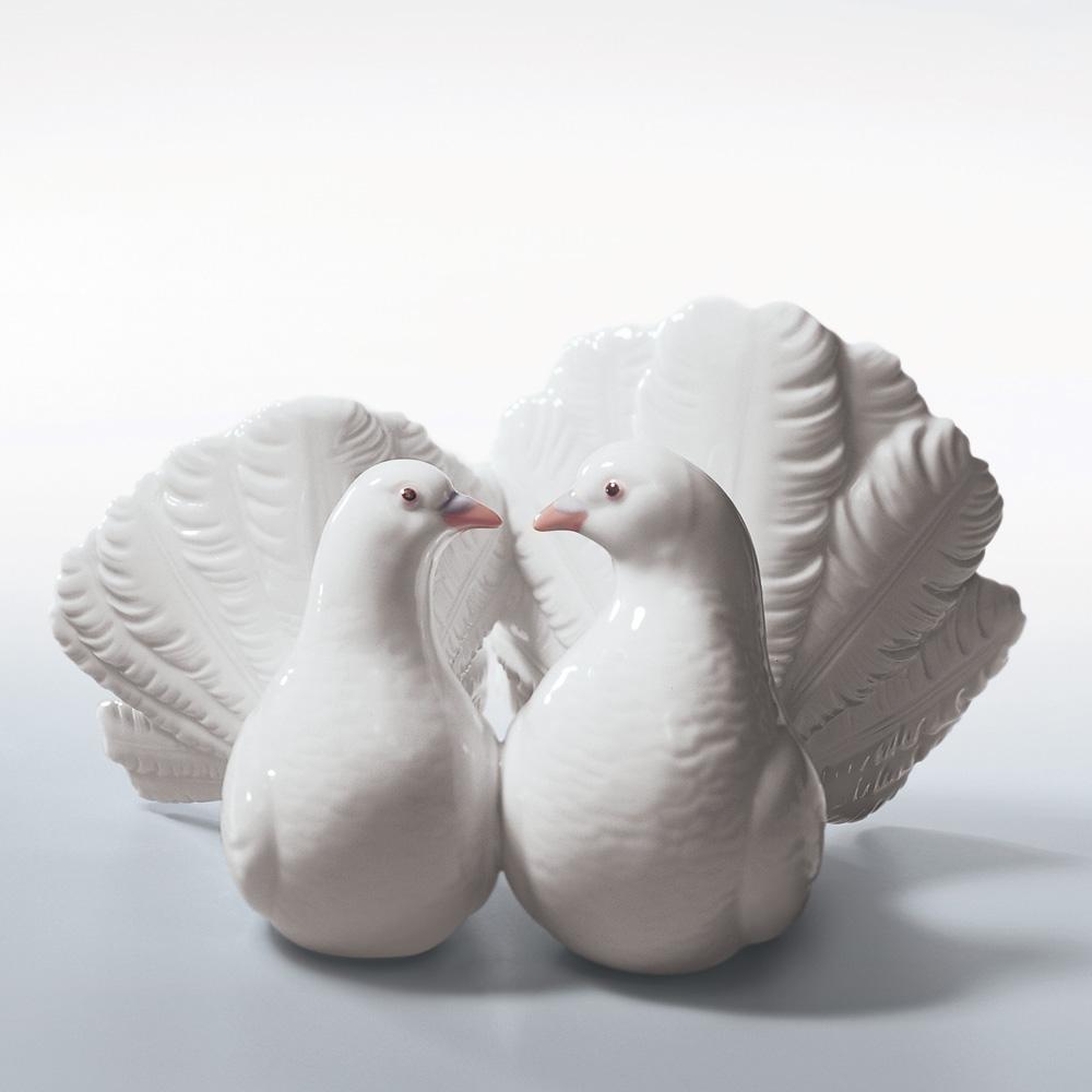 Couple Of Doves 01001169 - Lladro Figurine