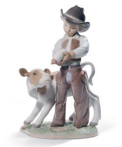 Cowboy 01008637 - Lladro Figurine
