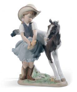 Cowgirl 01008636 - Lladro Figurine
