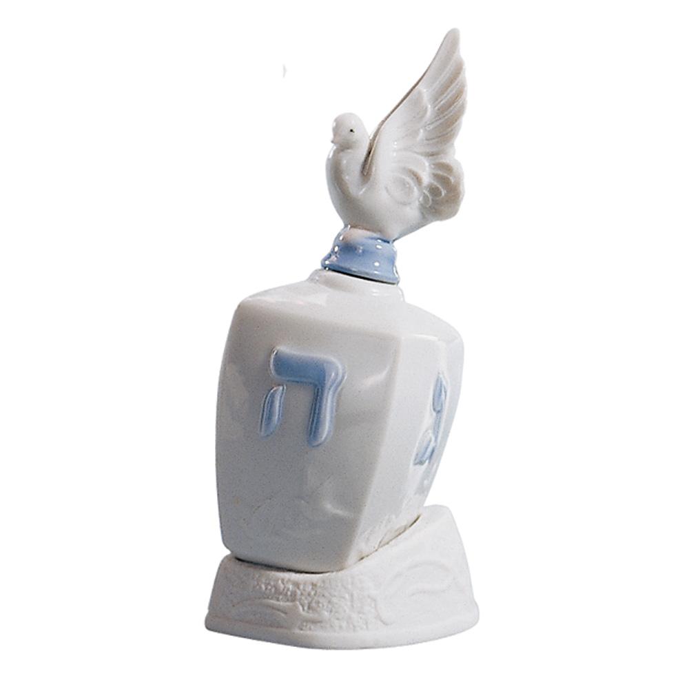 Dreidel with Dove 01006678 - Lladro Figurine