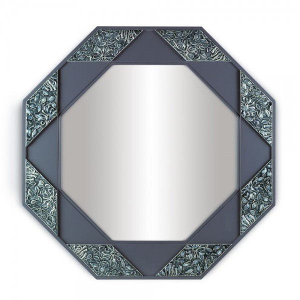 Eight Sided Mirror (Blue) 01007158 - Lladro