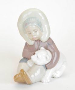 Eskimo Playing 1001195 - Lladro Figurine