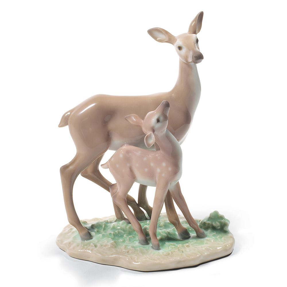 Fawn In The Forest 01008600 - Lladro Figurine