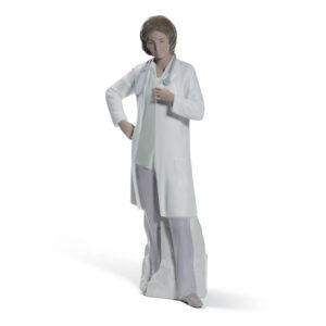 Female Doctor 01008602 - Lladro Figurine