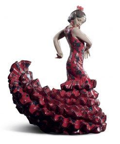 Flamenco Flare Red 01008765 - Lladro Figurine