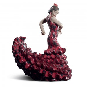 Flamenco Flare Red 01008765 - Lladro Figurine