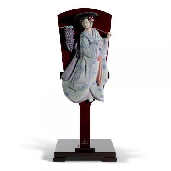 Fuji Musume 01008548 - Lladro Figurine