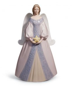 "Angel ""Star"" Tree Topper 01008181 - Lladro"