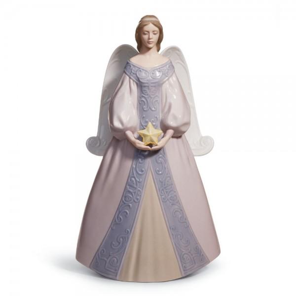 "Angel ""Star"" Tree Topper 01008181 - Lladro"