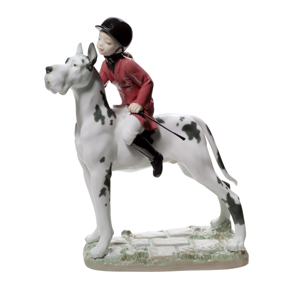 Giddy Up Doggy 01008523 - Lladro Figurine