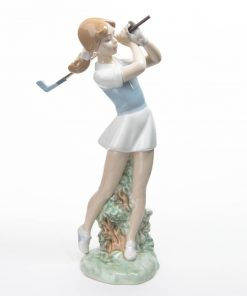 Golfer Female Out of the Rough - Nao by Lladro