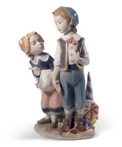 Hansel and Gretel 01008658 - Lladro Figurine