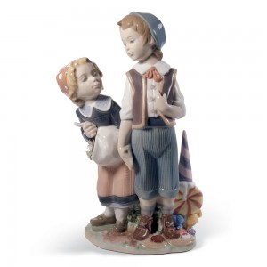 Hansel and Gretel 01008658 - Lladro Figurine