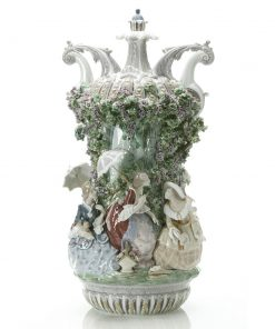Ladies From Aranjuez Vase 1001968; Ltd. 1,000 -  Lladro