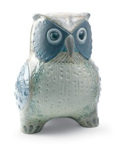 Large Owl (Grey) 01012532 - Lladro Figurine