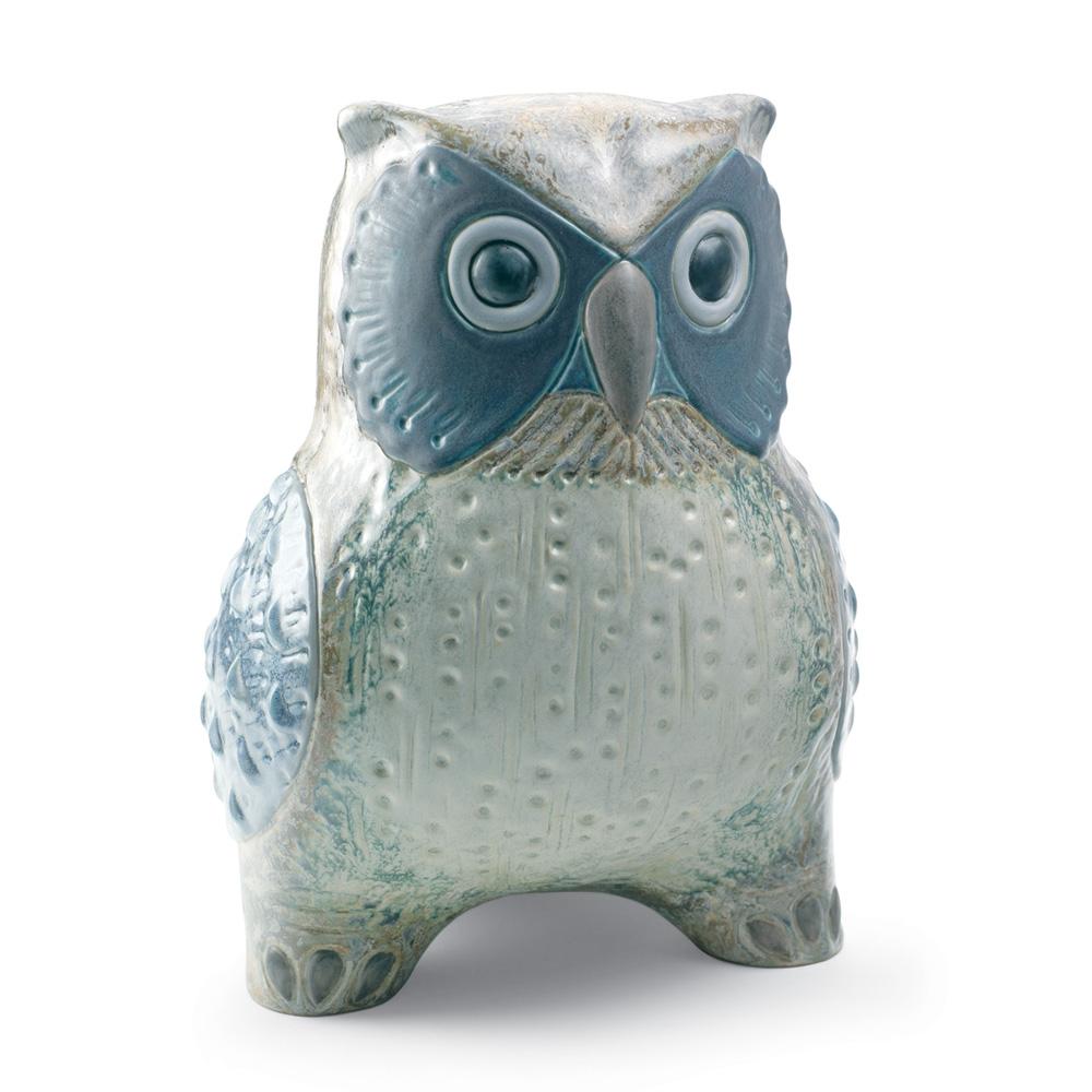 Large Owl (Grey) 01012532 - Lladro Figurine