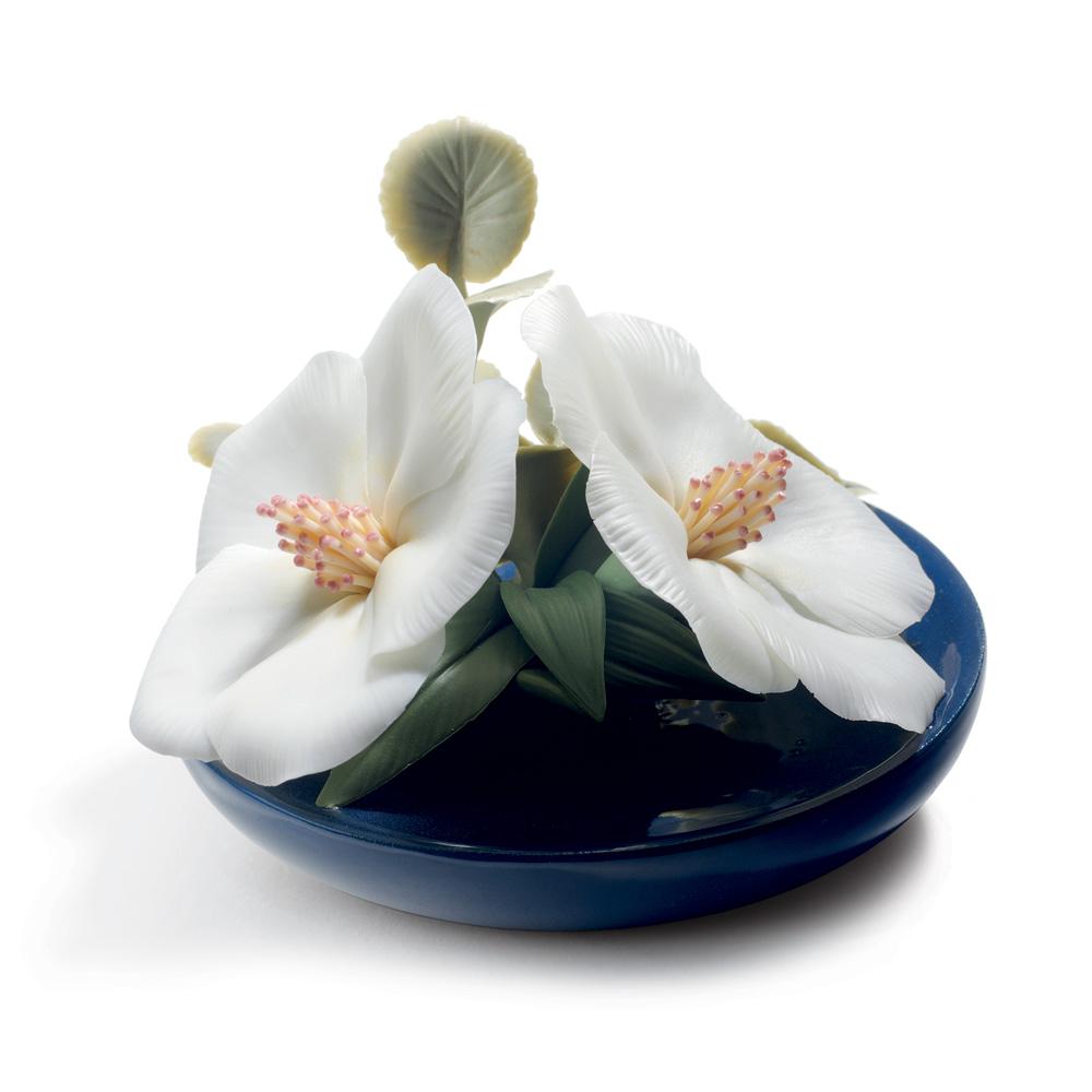 Lavatera Blossoms 1008651 - Lladro Flowers