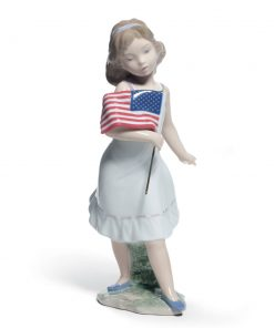Let Freedom Ring! 01008579 - Lladro Figurine
