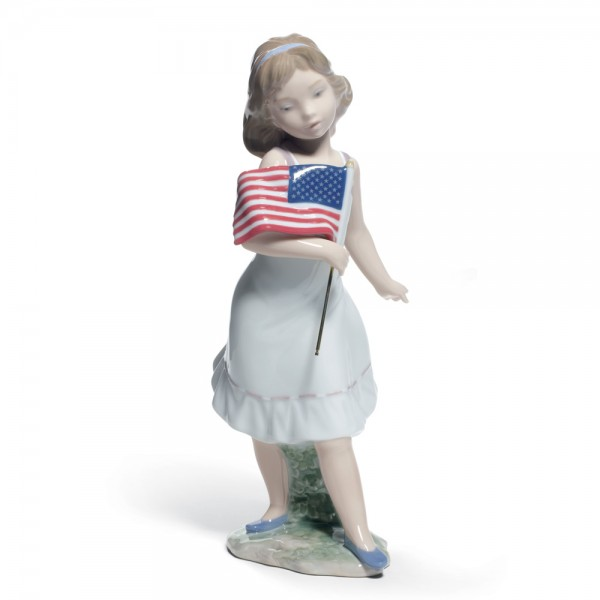 Let Freedom Ring! 01008579 - Lladro Figurine