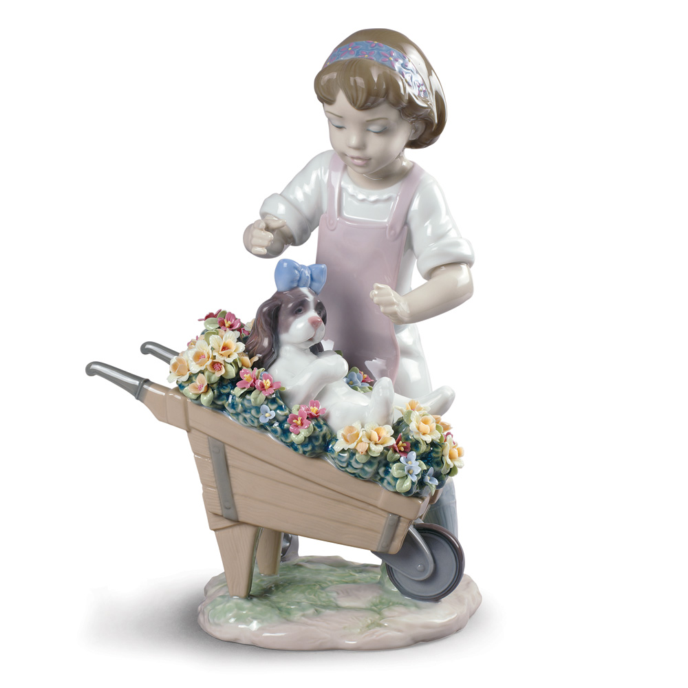 Let's Go For a Ride - Lladro Figurine