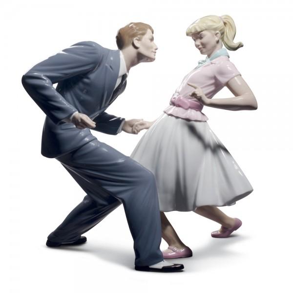 Let's Swing 01008752 - Lladro Figurine