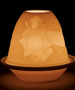 Lithophane Angel with Star 1017341 - Lladro Figurine
