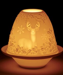Lithophane Deer 1017316 - Lladro Figurine