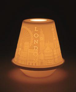 Lithophane Votive Light London 01017330 - Lladro Votive