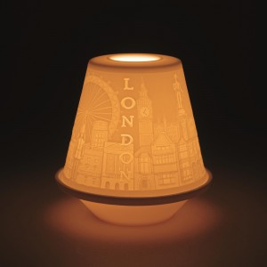 Lithophane Votive Light London 01017330 - Lladro Votive