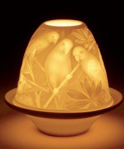 Lithophane Parrots 1017305 - Lladro Figurine
