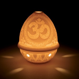 Lithophane Votive Light - OM 01017335 - Lladro Votive