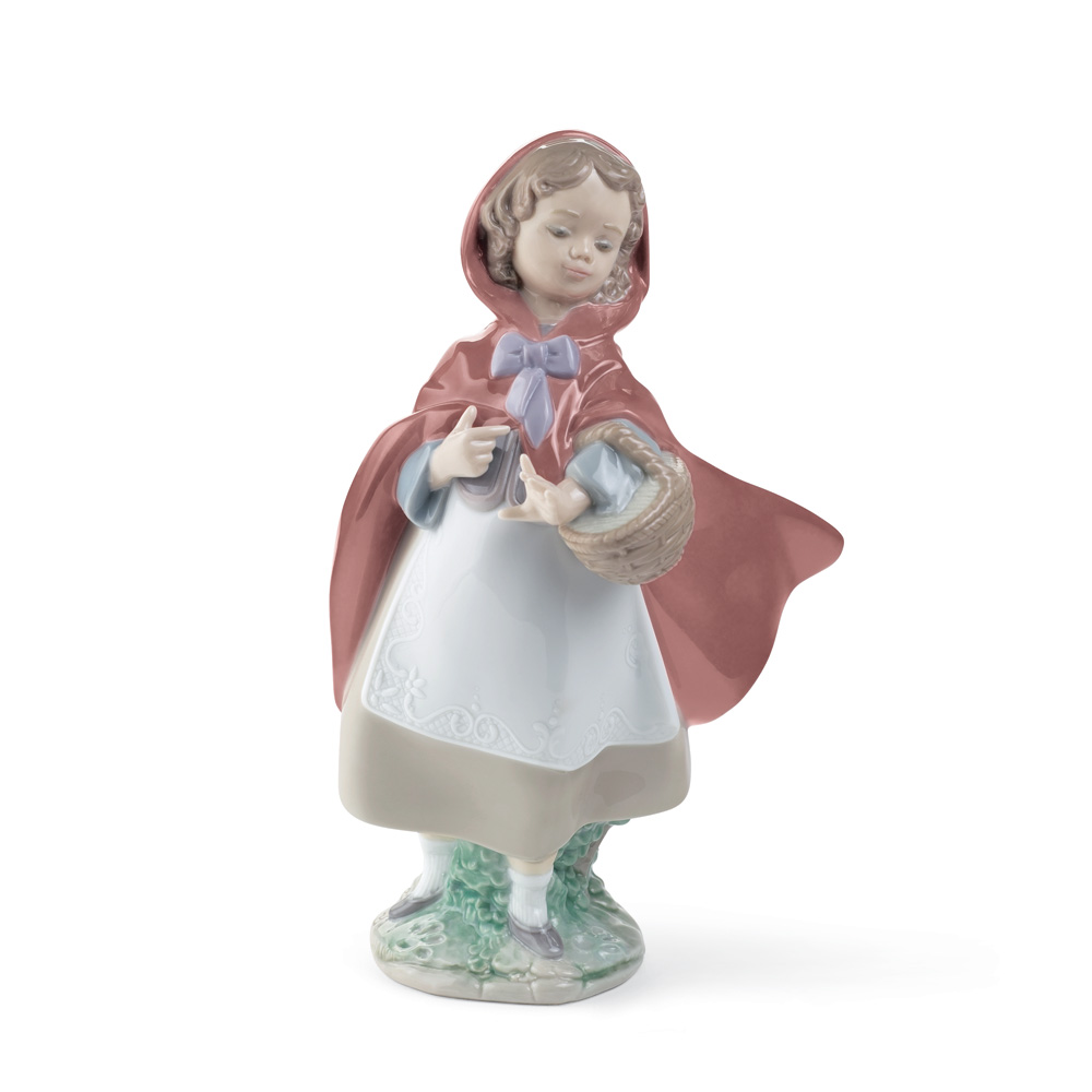 Little Red Riding Hood 01008500 - Lladro Figurine