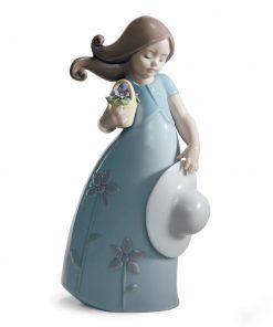 Little Violet 1008043 - Lladro Figurine