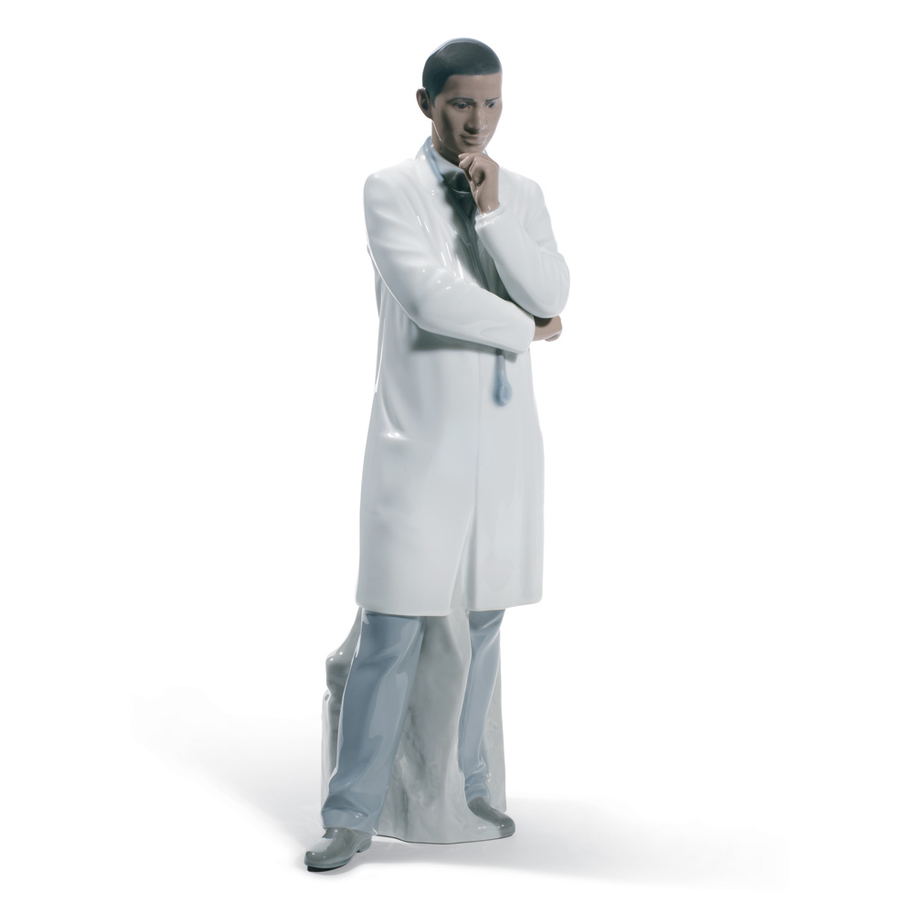 Male Doctor 01008601 - Lladro Figurine