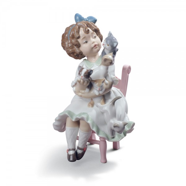 My Little Family 01008689 - Lladro Figurine
