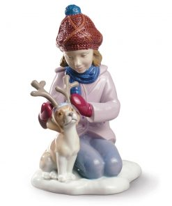 My Little Reindeer 01009130 - Lladro Figurine