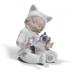 My Playful Kitty 01008586 - Lladro Figurine