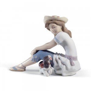 My Playful Pet 01008645 - Lladro Figurine