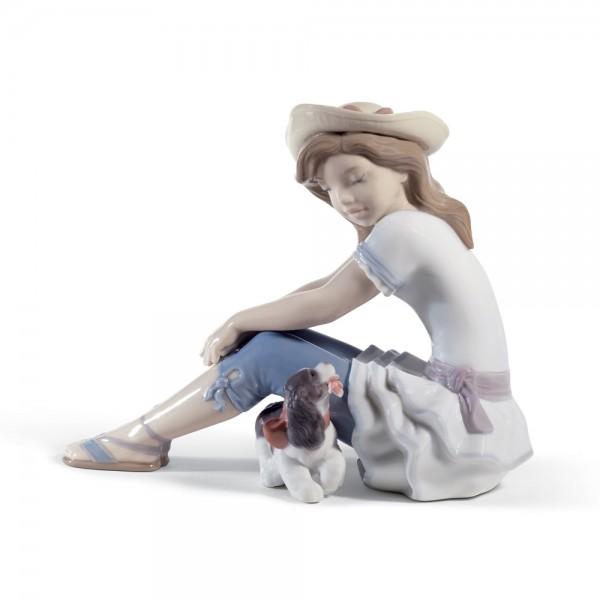 My Playful Pet 01008645 - Lladro Figurine