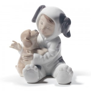 My Playful Puppy 01008598 - Lladro Figurine