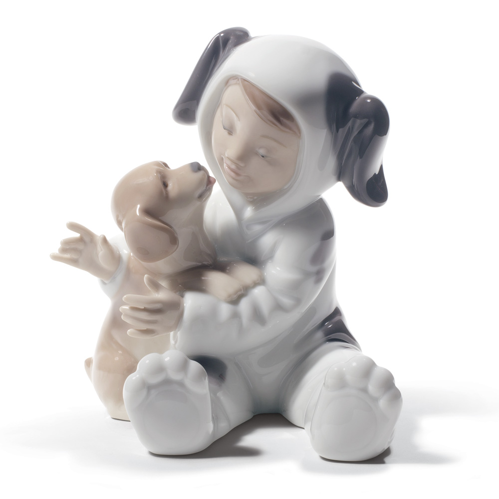 My Playful Puppy 01008598 - Lladro Figurine